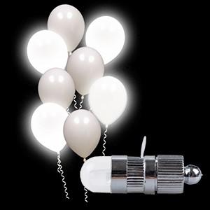 Luz LED Branco Fixo para Balão (Entrega em 24h)