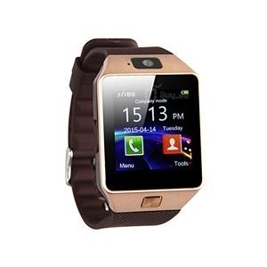 Smartwatch c/ Câmara e GSM Android e iOS Gold (Entrega em 24h)