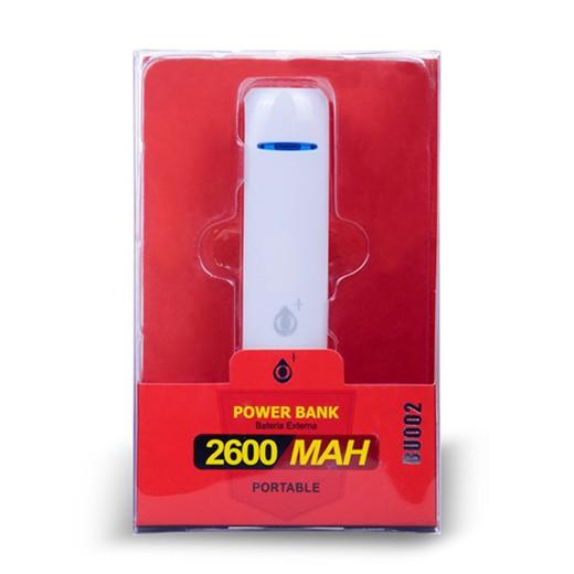 Carregador Portátil Powerbank BU002 2600mAh