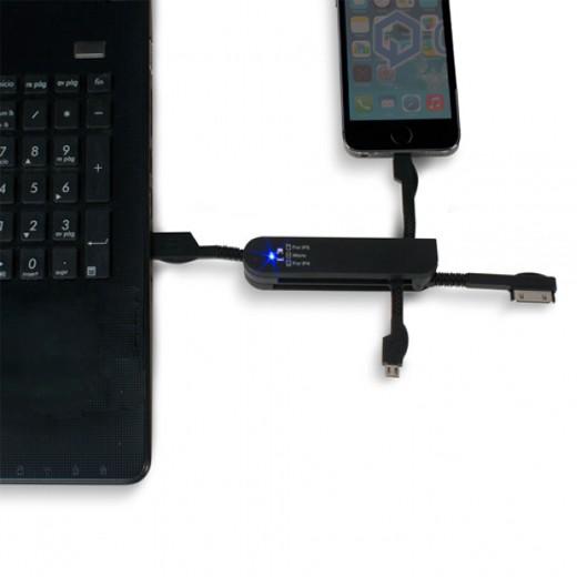 Cable USB Multifunciones CuboQ