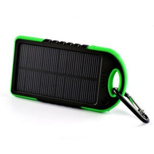 Carregador Solar Universal Anti-choque 5000mAh