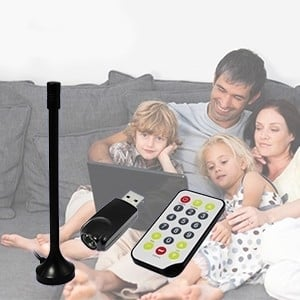 Conversor TDT TV e rádio no PC (Entrega em 24h)