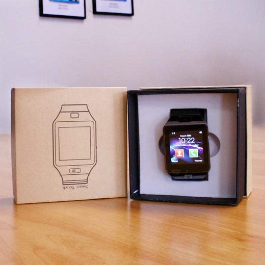 Smartwatch c/ Câmara e GSM Android e iOS c/ €10 em Saldo