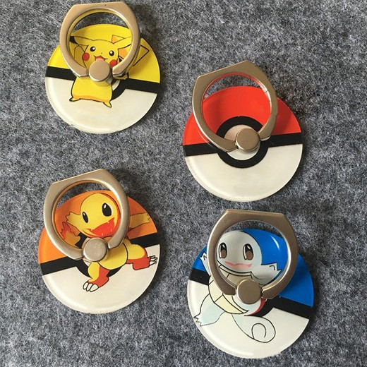 Suporte Anel para Telemóvel Pokémon