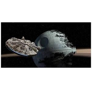 Póster Halcon vs. Death Star Star Wars (Entrega em 24h)