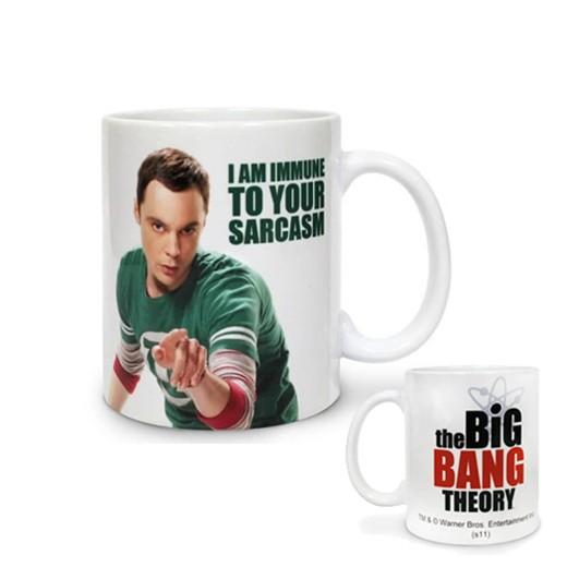 Caneca Sheldon I Am Immune To Your Sarcasm The Big Bang Theory