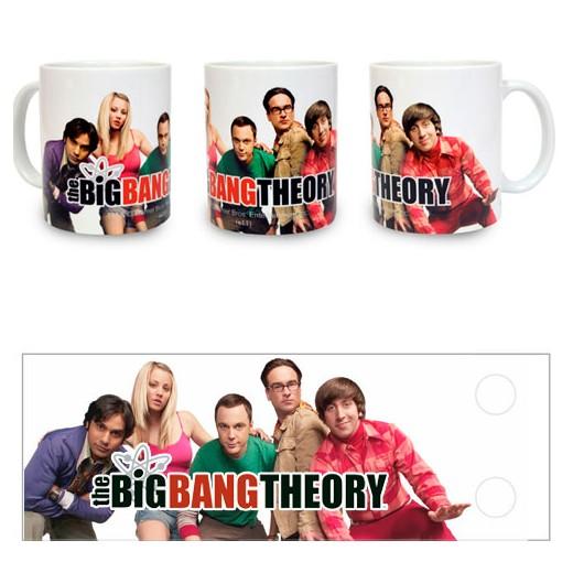 Caneca Grupo The Big Bang Theory