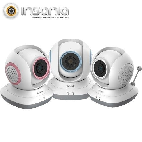 Câmara Baby Monitor HD 360 DCS-855L EyeOn