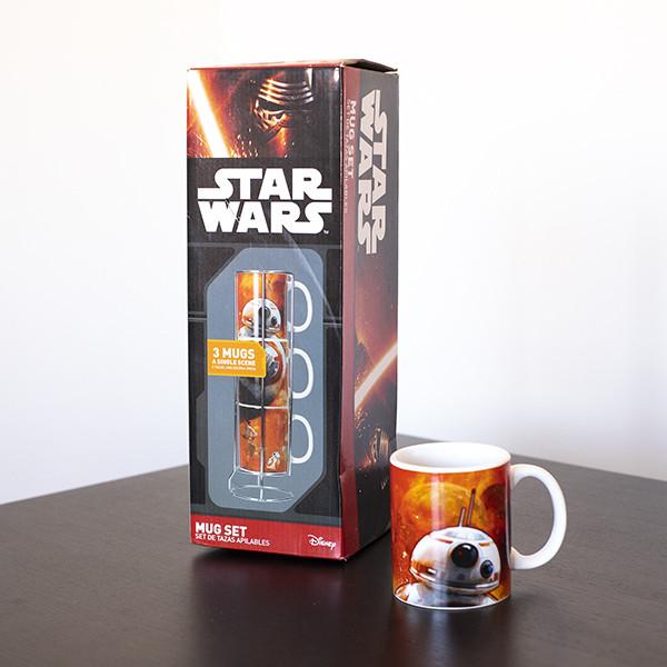 Conjunto de 3 Canecas BB-8 Star Wars