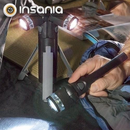 Lanterna LED 3-em-1 com Tripé
