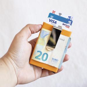 Carteira Porta-cartões em Alumínio (Entrega em 24h)