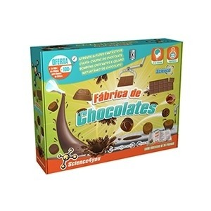 Fábrica de Chocolates Science4you (Entrega em 24h)