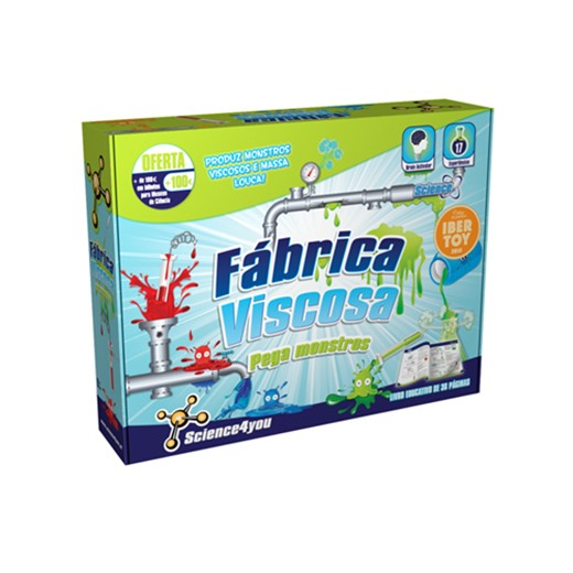 Fábrica Viscosa - Pega Monstros Science4you