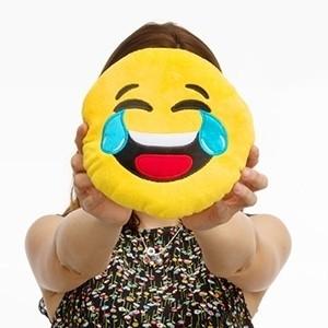 Almofada Emoji Riso (Entrega em 24h)