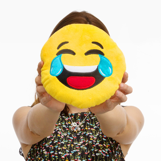 Almofada Emoji Riso