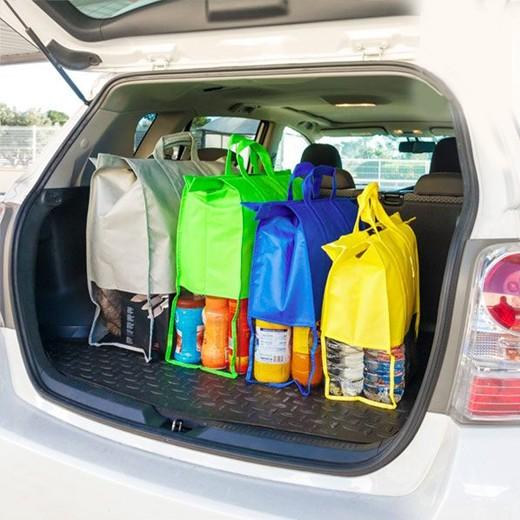 Sacos de Compras Organizadores para Carro (Pack 4)