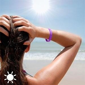 Pulseira Indicativa de Raios UV (Entrega em 24h)