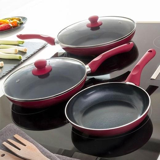 Frigideiras de Cerâmica Cook D\'Lux (Pack 5)