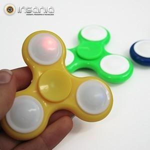 Fidget Spinner com Luz