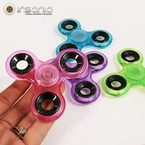 Fidget Spinner Transparente