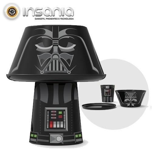 Conjunto para Refeições Empilhável Darth Vader