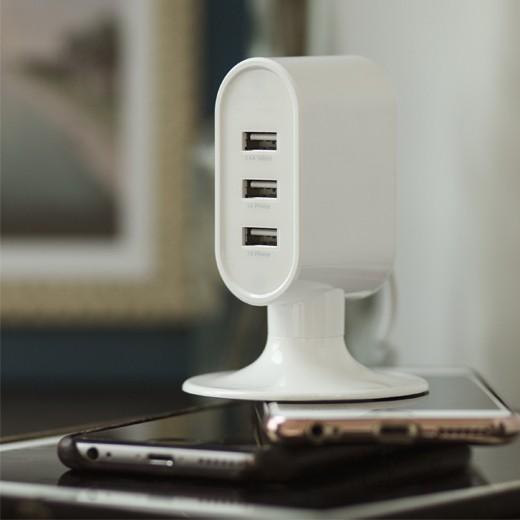 Torre de Carregamento com 3 Portas USB