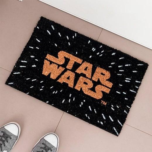 Tapete Logo Star Wars Preto
