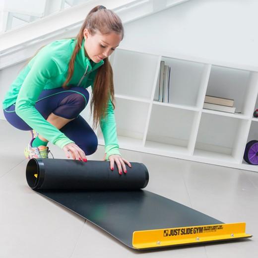 Tapete Deslizante de Treino Fitness