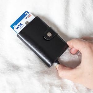 Carteira Porta-cartões 2 em 1 (Entrega em 24h)