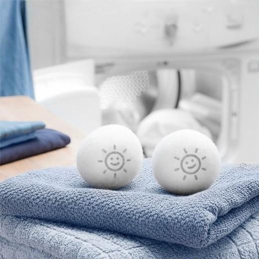 Bolas de Lã para Máquina de Secar Roupa (Pack 2)