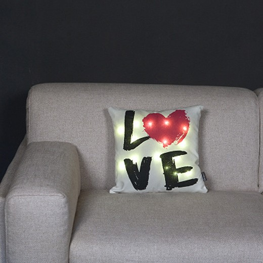 Almofada Kanguru Love Led