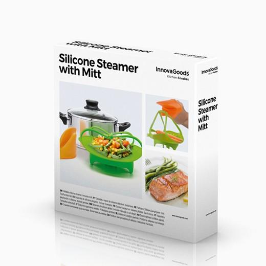 Cesto para cocinar al vapor de silicona entregas r pidas - Utensilios para cocinar al vapor ...