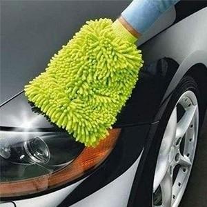 Luva de Microfibra para o Carro (Entrega em 24h)