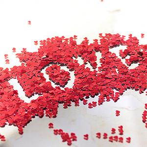 Confettis Coração (Entrega em 24h)
