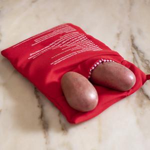 Bolsa de Cozer Batatas no Microondas (Entrega em 24h)