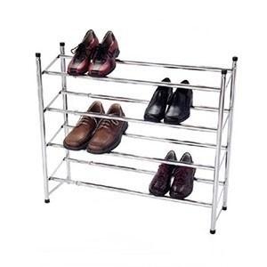Organizador de Sapatos Extensível de 4 Patamares (Entrega em 24h)