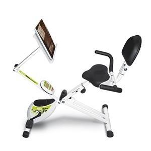 Bicicleta Estática Recumbent YF93 BH Fitness (Entrega em 24h)
