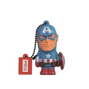 Tribe Pen Drive Marvel Captain America 16GB (Entrega em 24h)