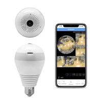 Lâmpada LED com Câmara de Vigilância 360º