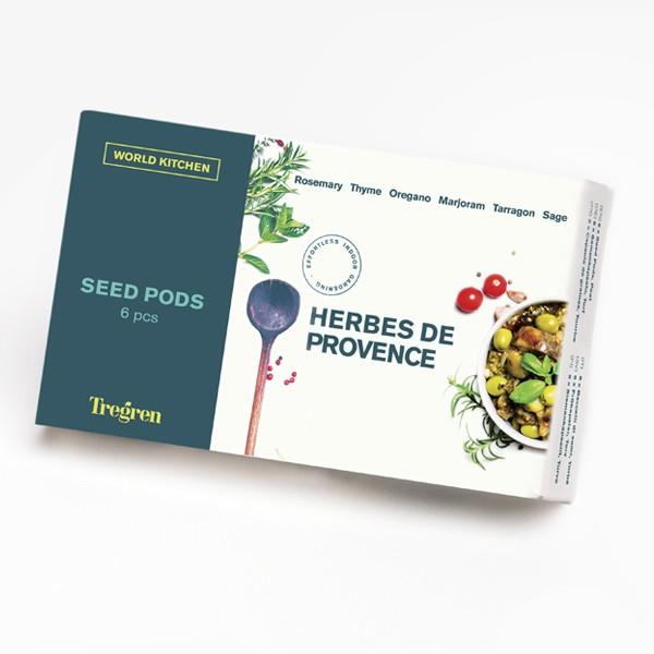 Conjunto de Sementes Ervas de Provence Tregren