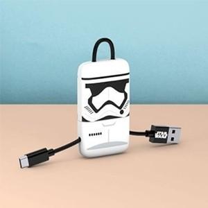 Cabo Keyline USB-microUSB Star Wars Stormtrooper (Entrega em 24h)