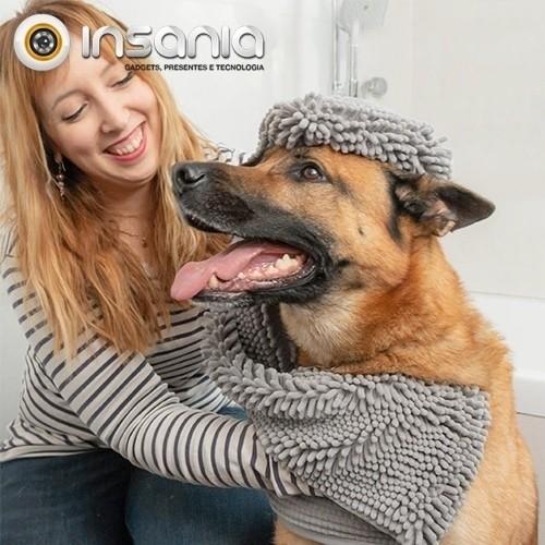 Toalha Ultra-absorvente para Animais de Estimação