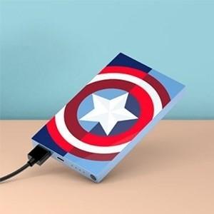 Tribe Deck Power Bank Marvel Captain America 4000 mAh (Entrega em 24h)
