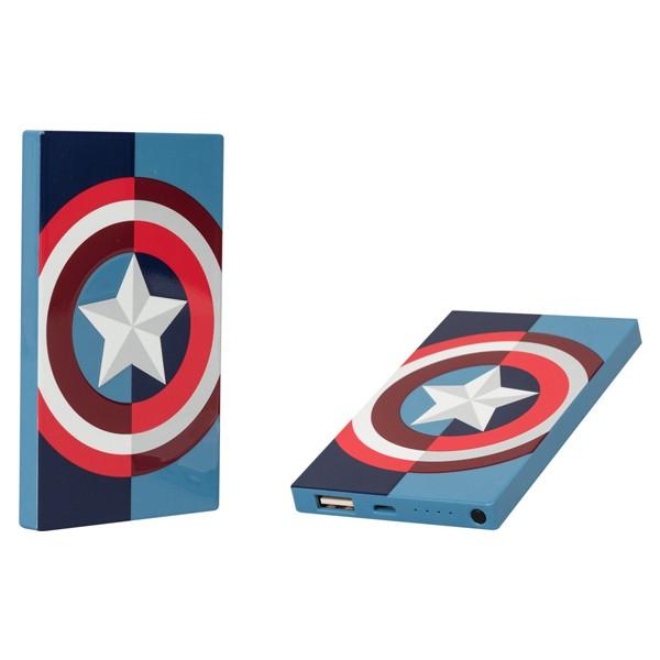 Tribe Deck Power Bank Marvel Captain America 4000 mAh