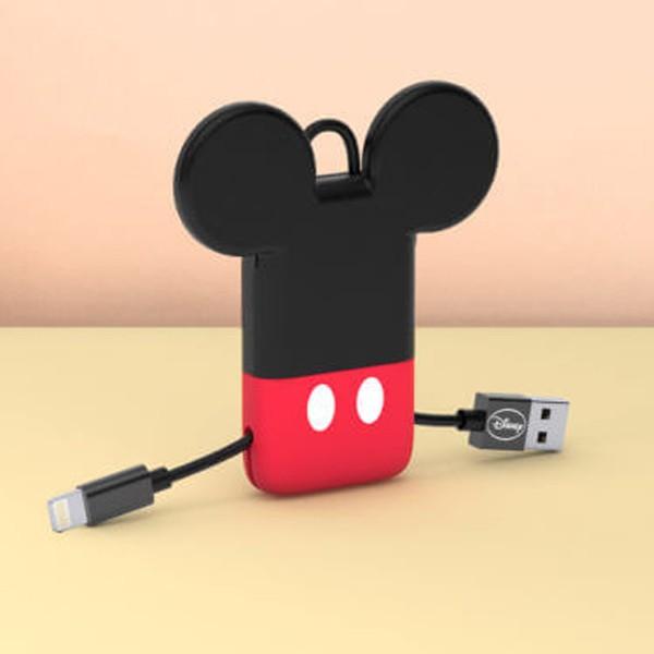 Cabo Keyline USB-Lightning Disney Mickey