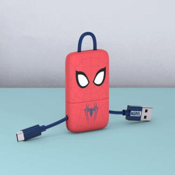 Cabo Keyline USB-Lightning Marvel Spiderman