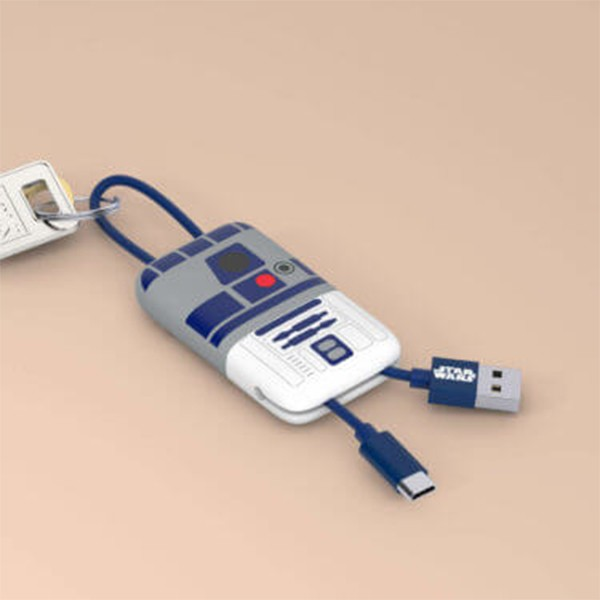 Cabo Keyline USB-Lightning Star Wars R2-D2