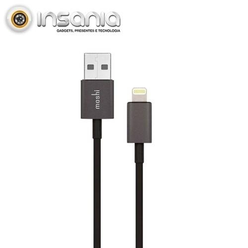 Cabo USB-Lightning Alumínio 1 metro Moshi