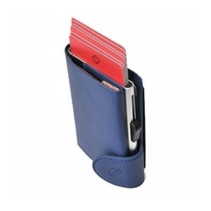 Carteira Porta-cartões C-secure Ögon Azul (Entrega em 24h)