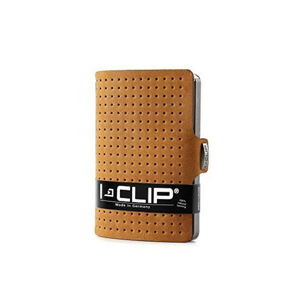 Carteira Porta-cartões I-Clip Advantage Ögon Caramelo